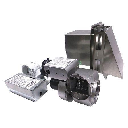 TJERNLUND GPAK1 Gas Heater Vent System, 10-1/4