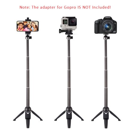 3-in-1 Handheld Selfie Stick Tripod Holder Extendable bluetooth Remote For Phone - image 9 of 12