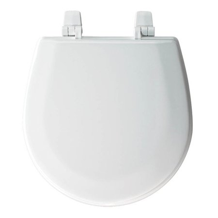 Bemis TC50TTA Marine Wood Round Toilet Seat White