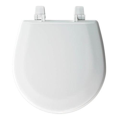 Incredible Bemis Tc50Tta Marine Wood Round Toilet Seat White Uwap Interior Chair Design Uwaporg