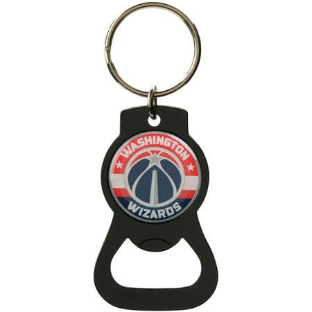 Washington Wizards Bottle Opener Keychain - Black - No Size