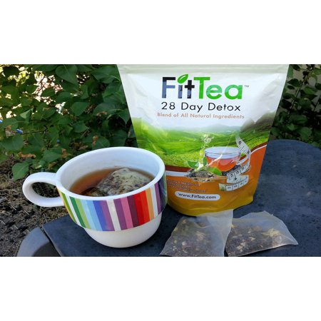 FIT TEA 28 Day Detox Tea for Weight Loss and Appetite Control Naturally -  28 Bags