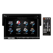 "Power Acoustik PD-710B 7"" Single-DIN In-Dash TFT/LCD Touchscreen DVD Receiver with Bluetooth"