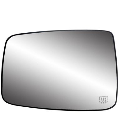 33244 - Fit System 09-17 Dodge Ram Heated Replacement Mirror Glass with backing plate, Driver Side - check description for fitment ()