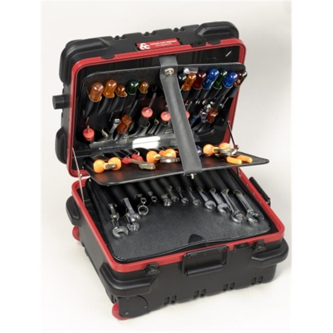 Chicago Case Co 95-8580 RMMST9CARTMH Military Ready Black Tool Case