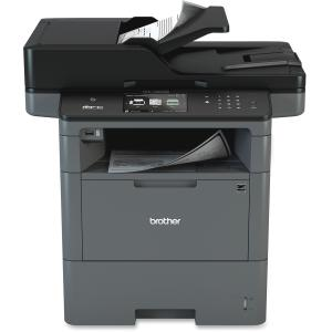 Brother MFC-L6800DW Laser Multifunction Printer - Monochrome - Plain Paper Print - Desktop - Copier/Fax/Printer/Scanner - 48 ppm Mono Print - 1200 x 1200 dpi Print - 1 x Input Tray 520 Sheet, 1 x