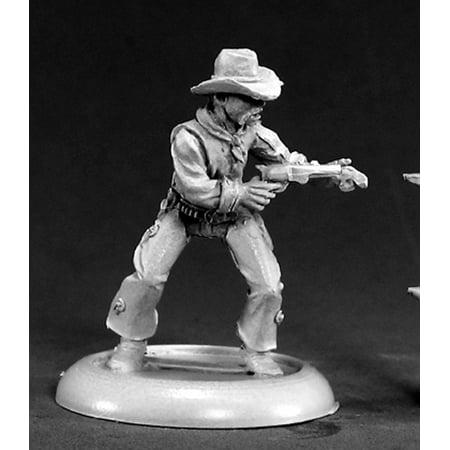 Reaper Miniatures Rio Wilson, Cowboy #50049 Chronoscope Unpainted RPG D&D Figure - Cowboy Playset
