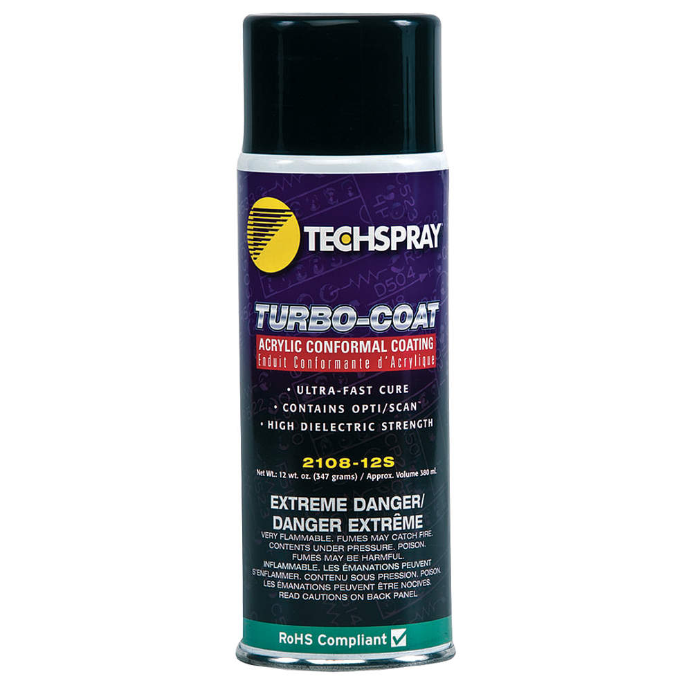 TECHSPRAY Conformal Coating, 12 oz 2108-12S