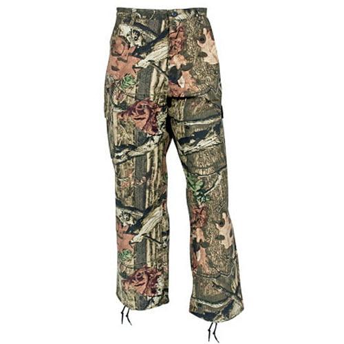 Yukon Gear Men's Lightweight 6-Pocket Pants (Mossy Oak Infinity, Large) Multi-Colored