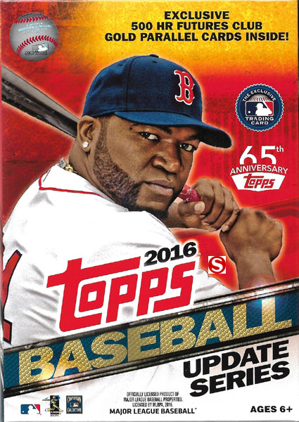2016 Topps MLB Baseball Traded Updates and Highlights Series Factory Sealed 72 Card Hanger... by Topps