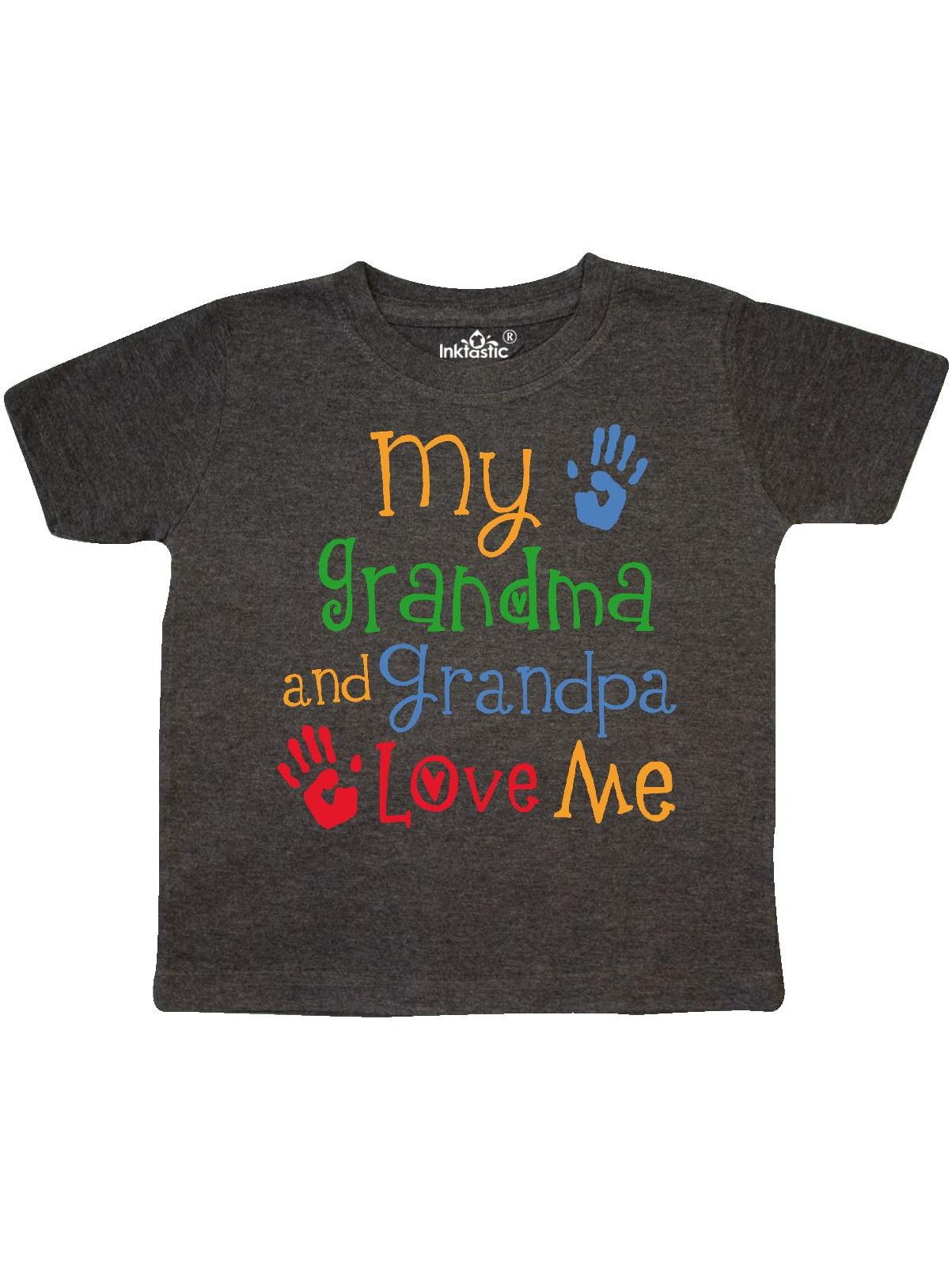 inktastic My Gramps Loves Me Girls Toddler T-Shirt