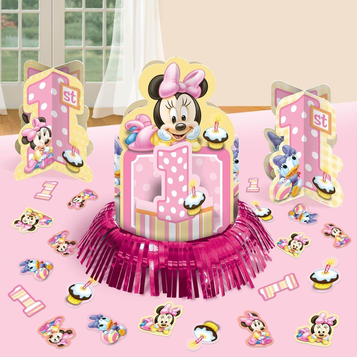 Minnies 1st Birthday Table Decorating Kit