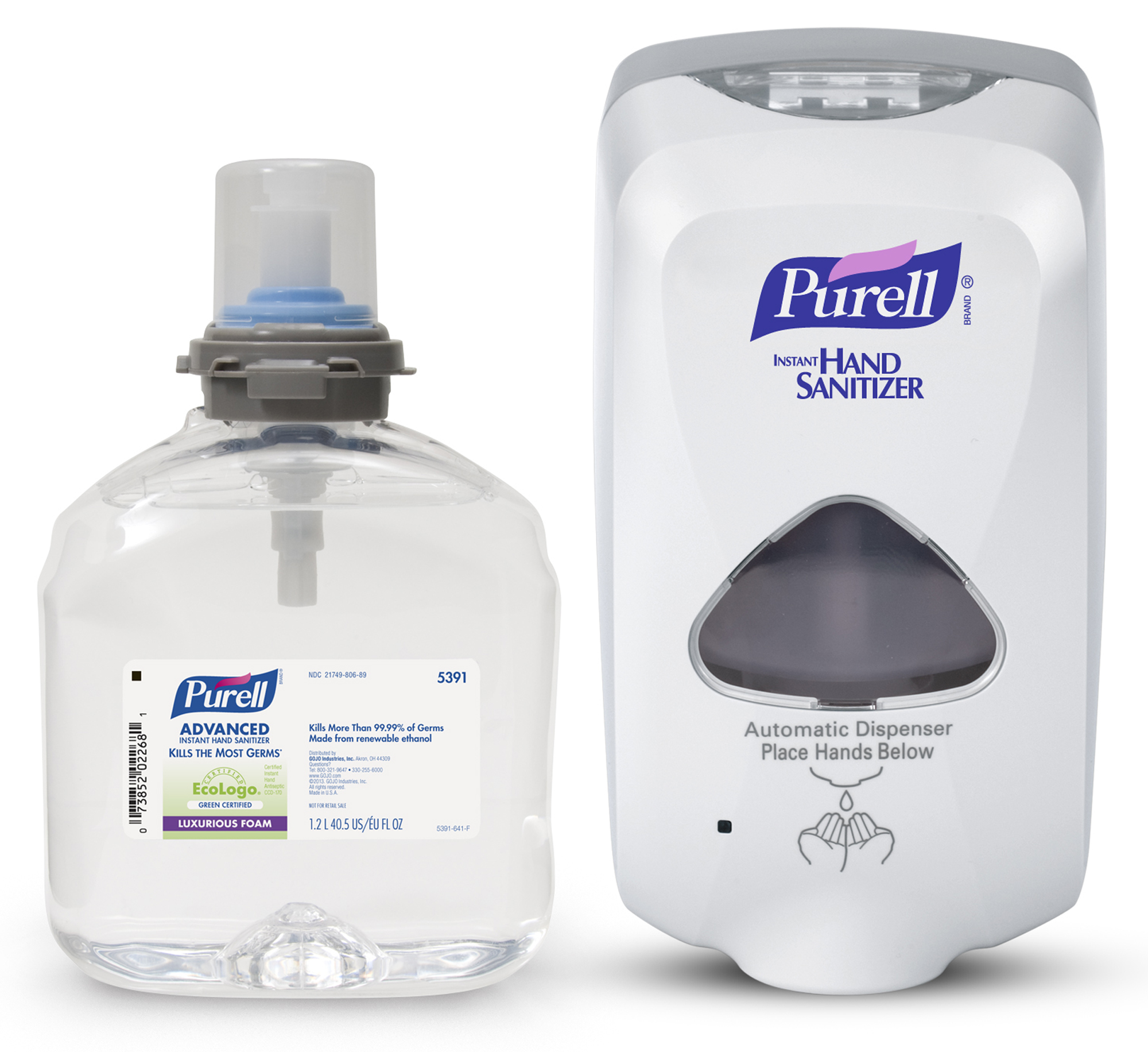 PURELL® TFX™ Advanced Hand Sanitizer Foam Starter Kit - 1 Dispenser / 1 Refill