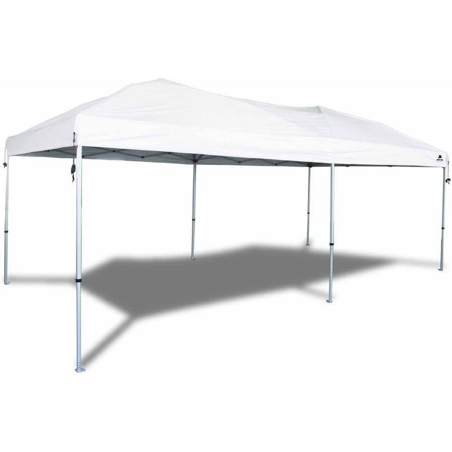 Ozark trail 20x10 straight leg instant canopy 200 sq ft for 10 x 18 square feet