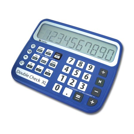 four function calculator compare prices at nextag doublecheck xl talking low vision commercial calculator