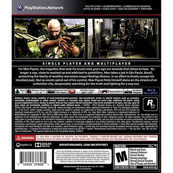 Max Payne 3 incapable de se connecter à des services de matchmaking PC