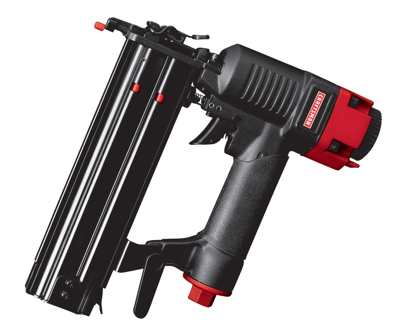 Craftsman Brad Nailer 18 Gauge 2 in. Nail Gun 70-110 PSI Pneumatic Stapler Kit Finishing Air Tool 51114 by