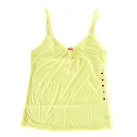 - Jenni By Jennifer Moore Women's Lingerie Tank (Pineapple Cream, X Small)