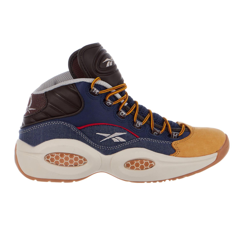 Reebok Question Mid Dress Code Shoes - Mens