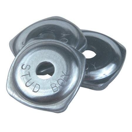 STUD BOY Aluminum Power Plate Single Backer Aluminium  #260058