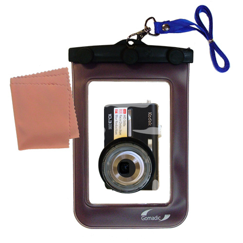 Hollywood Thread Gomadic Waterproof Camera Protective Bag Suitable For The Kodak M1063 M1073 Is M1093 Is  -  Unique Floating Design Keeps Camera Clean And Dry