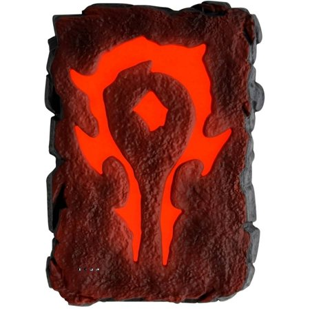 Swordfish Sfw Pb700sh Warcraft Movie Collection Horde Symbol Light Up 6720Mah Power Bank