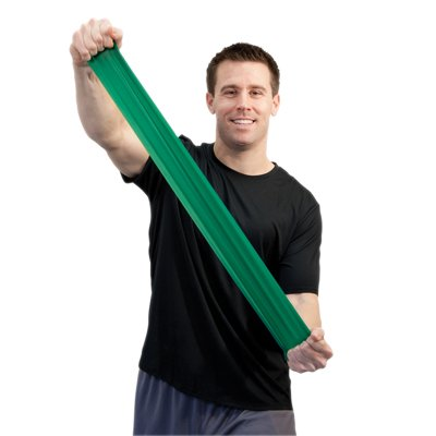 CanDo Sup-R Band Latex Free Exercise Fitness Band - 5 Foot Singles