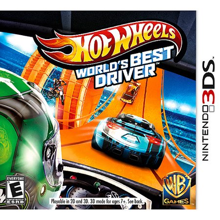 Hot Wheels: World's Best Driver (Nintendo 3DS)