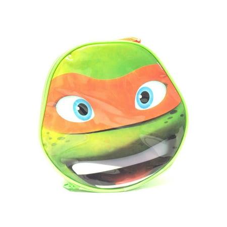 Lunch Bag - Teenage Mutant Ninja Turtles - Michelangelo Face 847187](Ninja Turtle Face Painting)
