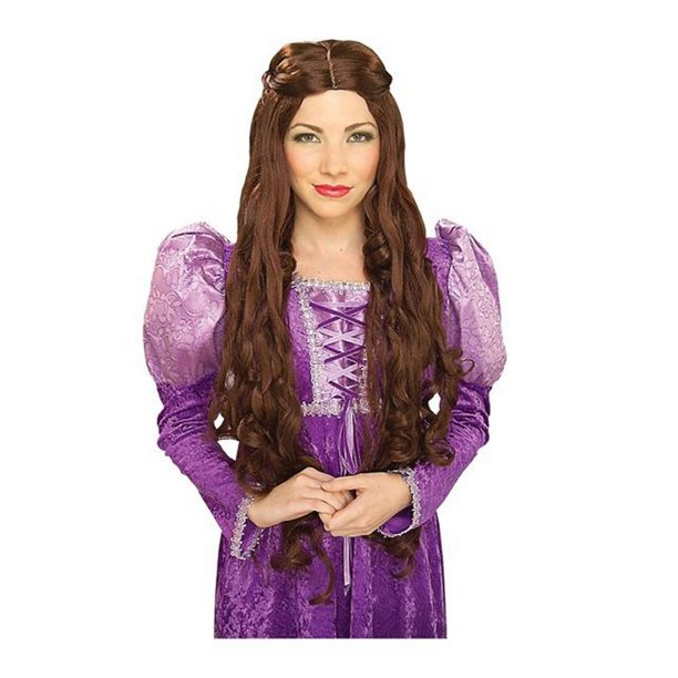 Guinevere Brown Adult Halloween Costume Accessory Wig ...