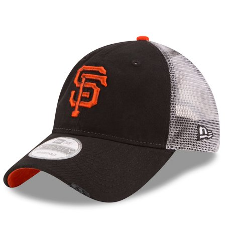 San Francisco Giants New Era Team Rustic 9TWENTY Adjustable Hat - Black - OSFA (San Francisco Giants Dart)