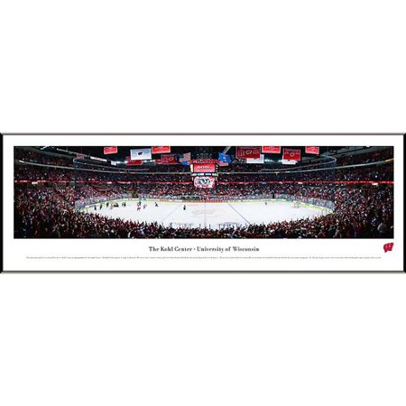 Blakeway Worldwide Panoramas, Inc NCAA Hockey Standard Framed Photographic Print