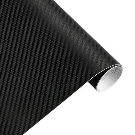 30cmx127cm 3D Carbon Fiber Vinyl Car Twill Wrap Sheet Roll Film Car Stickers Decals for Motorcycle Car Automobiles Styling Accessories