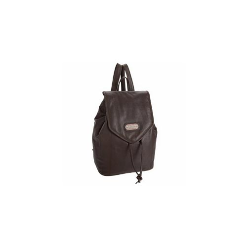 LeatherBay Leather Backpack Small