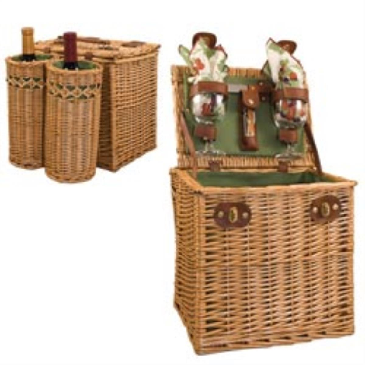 Picnic Time 122-15-515 Vino Wine & Cheese Picnic Gift Basket