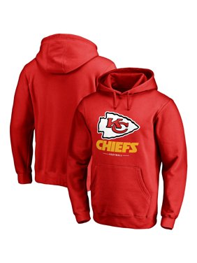 67dd1f1a Product Image Kansas City Chiefs NFL Pro Line Big & Tall Team Lockup Pullover  Hoodie - Red