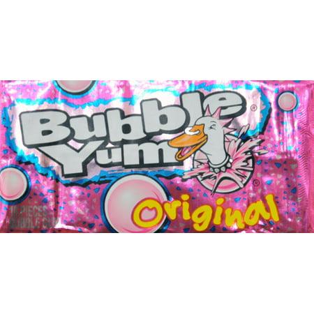 Bubble Yum Original Bubble Gum, 10 count, 2.8 oz