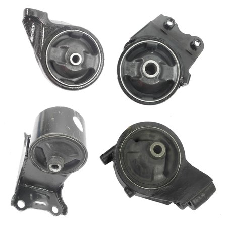 engine motor trans mount set 4pcs for 2002 2005 hyundai. Black Bedroom Furniture Sets. Home Design Ideas