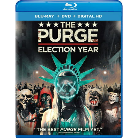 The Purge  Election Year  Blu Ray   Dvd