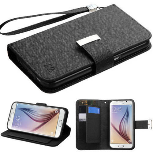 Samsung Galaxy S6 MyBat DLux MyJacket Wallet Case