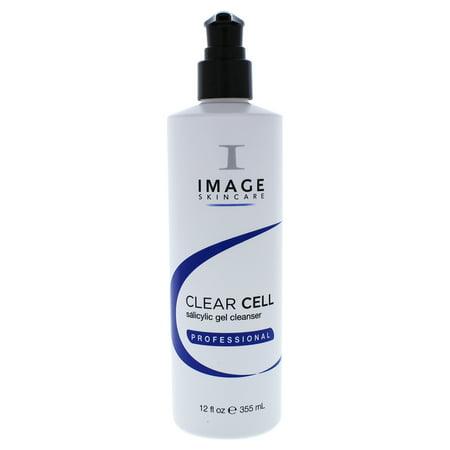 Image Skin Care Salicylic Gel Facial Cleanser, Face Wash for Acne Prone Skin, 12 Oz