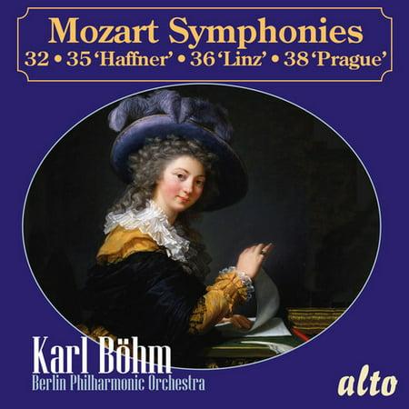 Mozart Haffner Symphony (Mozart: Symphonies 32, 35 Haffner, 36 Linz and 38 Prague)