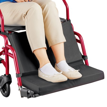 Wheelchair Foot and Leg Support and Foam Cushion for Maximum Comfort - Easy Hook Attachment