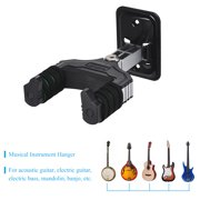AROMA Musical Instrument Hanger Hook Holder Wall Mount with Sponge Cushion for Acoustic Electric Guitar Bass Mandolin Banjo