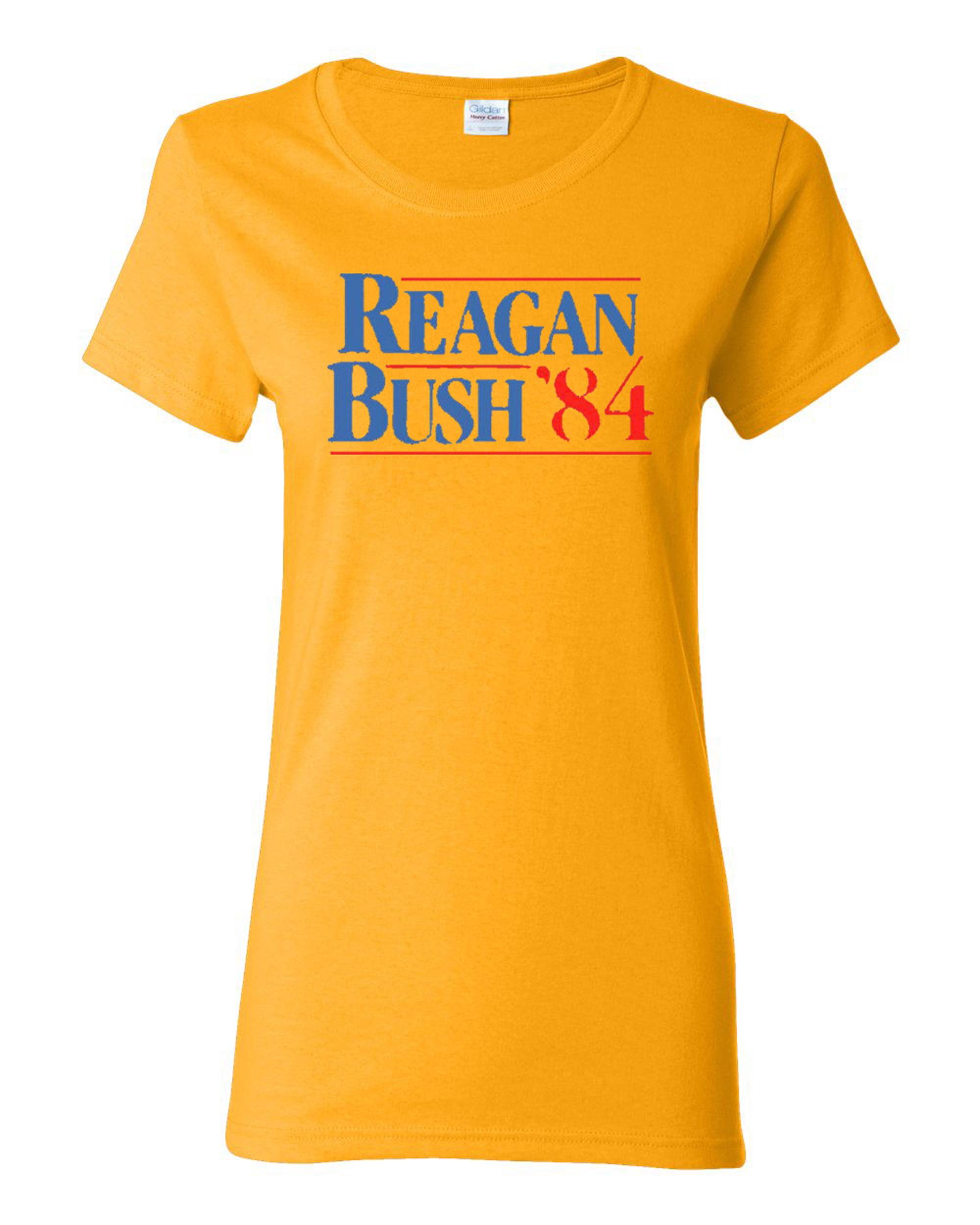 Ladies Reagan Bush 84 T-Shirt Tee
