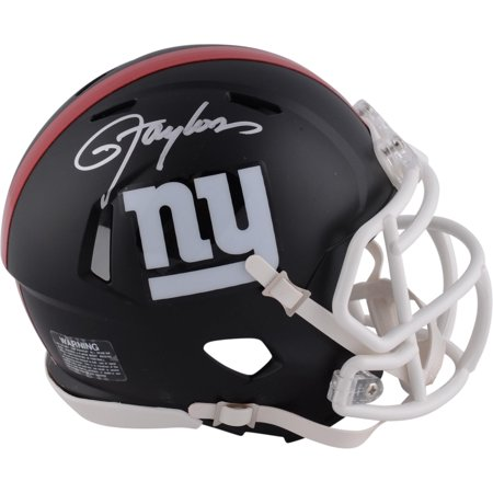 Lawrence Taylor New York Giants Autographed Riddell Black Matte Alternate Speed Mini Helmet - Fanatics Authentic Certified ()
