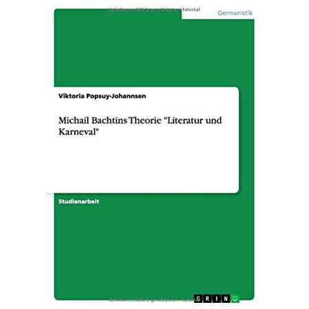"""Michail Bachtins Theorie """"Literatur Und Karneval"""" - image 1 de 1"""