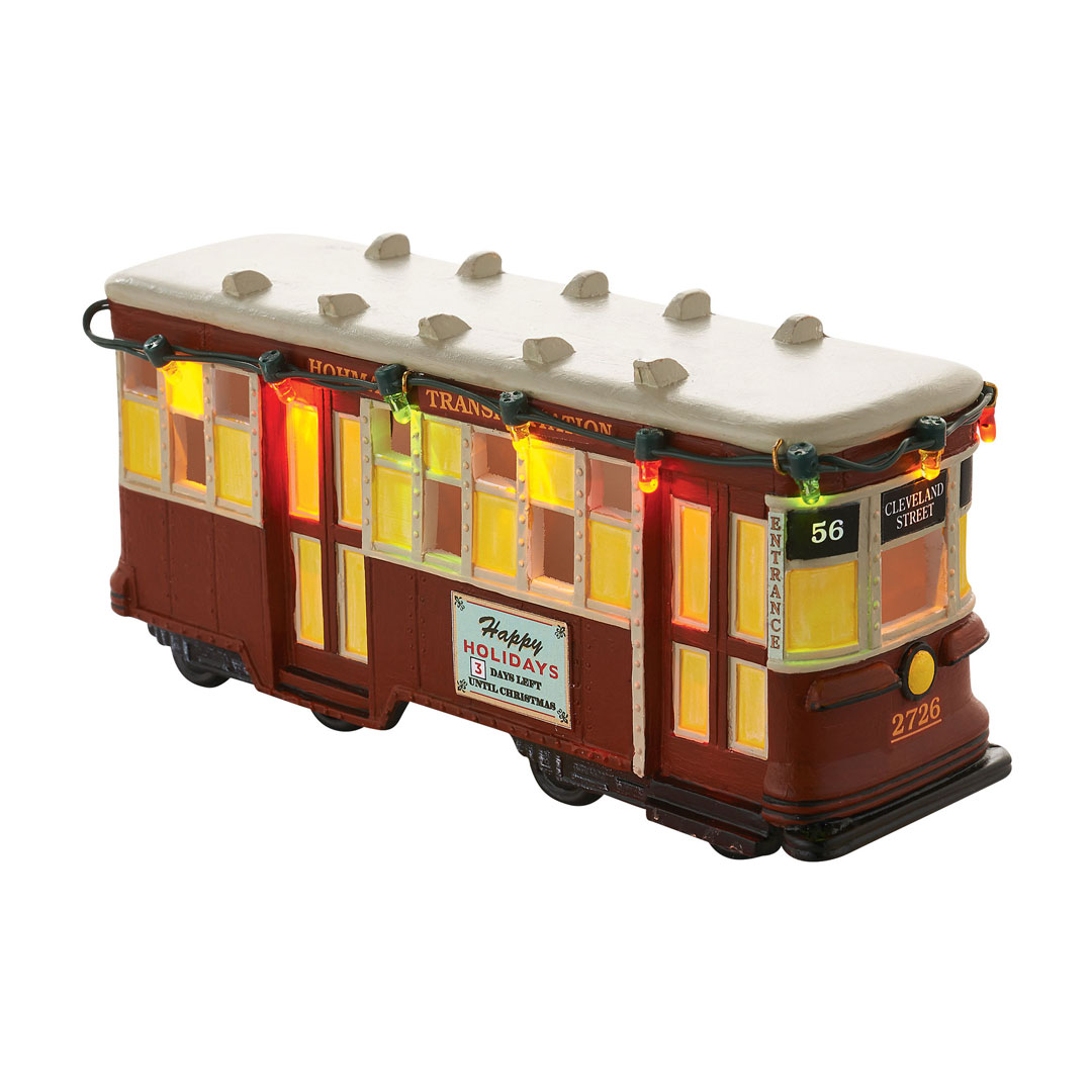 Department 56 A Christmas Story Streetcar 4053045 New 2016