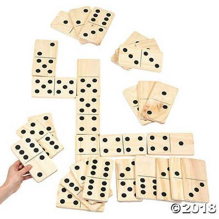 Giant Backyard Dominoes Game](Giant Dominoes)