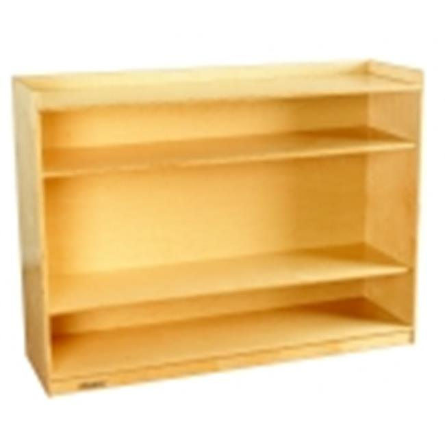 Childcraft 36 in. Adjustable Mobile Bookcase With Lip